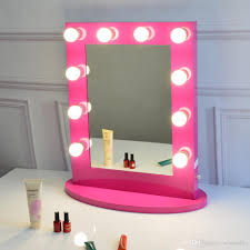 hollywood makeup mirror with lights rose red vanity mirror with light hollywood makeup stage mirror