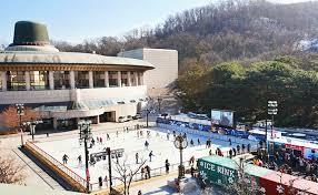 enjoy skating and sledding in seoul metropolitan area