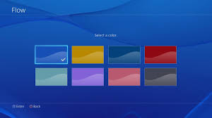 how to change the color of ps4 controller light playstation 4 update brings usb music player home screen customization