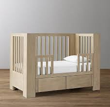 storage crib toddler bed conversion kit
