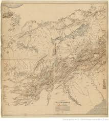 bureau d ude topographique carte du sud oranais 1 400 000 dressée au bureau topographique de