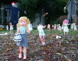 Yard Decoration Scary Halloween Yard Decoration Ideas Designcorner