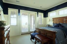 Bedroom Crown Molding French Door Blinds Bedroom Traditional With Crown Molding Foot Of