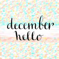 imagenes hola diciembre hola diciembre icono escrito a mano tarjeta de vector handdrawn