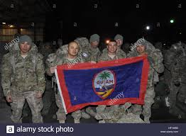 Guam Flag Task Force Guam Soldiers From 1st Battalion 294th Infantry