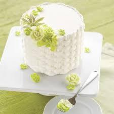 floral basketweave cake wilton