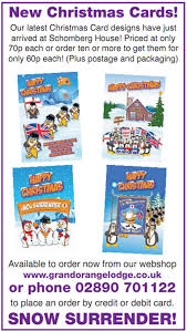 order christmas cards chris donnelly on orange order christmas cards are like