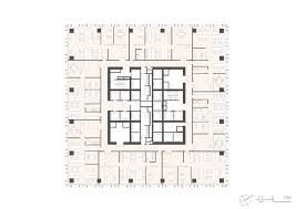 Silver Towers Floor Plans by Som Completes Elegant Leed Silver Skyscraper In Nanchang China