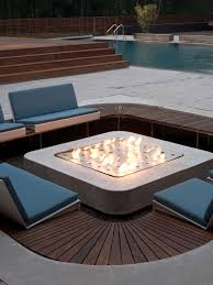 Custom Gas Fire Pits - exterior design amazing modern gas fire pit design u2014 www awayart com