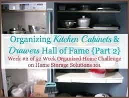 Organize Kitchen Cabinets - best way to organize kitchen cabinets and drawers well organized