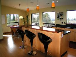 astonishing kitchen island with bar plans and pendant light over