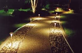 Landscape Path Lights Outdoor Path Lighting Electric Pathway Lights Low Voltage