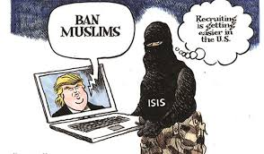 muslim ban 10 cartoons slam trump racism