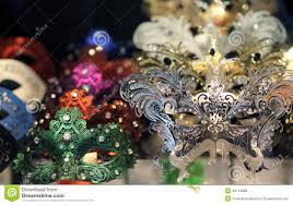 carnival masks for sale venetian masks for sale in a shop of venice stock photo image
