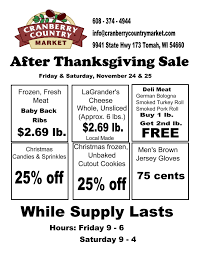 after thanksgiving sale friday saturday november 24 25