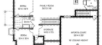 house floor plans with basement basement home plans 2 house plans with basement2
