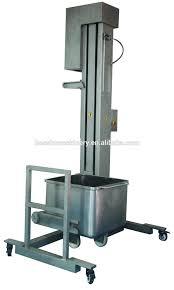 durável amplamente utilizado barato elevador alimentos à base de