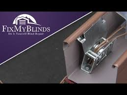 Blind Pull Cord How To Replace A Cord Lock In A Wood Faux Wood Blind Youtube
