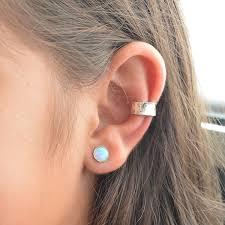 ear cuffs for pierced ears sterling silver ear cuff for non pierced ears