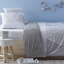percale de coton c est quoi parure de lit adulte pas cher à prix auchan