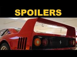 spoilers and rear wings explained