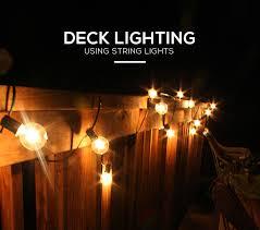 deck string lighting ideas deck lighting ideas diy