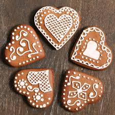 german heart biscuits baking mad
