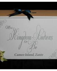 Wedding Dress Boxes For Travel Wedding Dress Travel Box Personalised Mrs Any Name To Be
