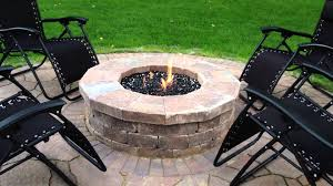 Glass Fire Pit Table Gas Fire Pit With Fire Glass In Mokena Il By Archadeck Of