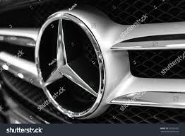 mercedes benz logo warsaw poland november 21 2016 mercedes stock photo 527067250