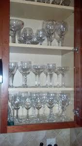 Wine Glass Storage Cabinet by Road To The Ravenna Diy Wine Glass Storage