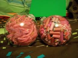 breast cancer awareness ornaments a bauble creation by p