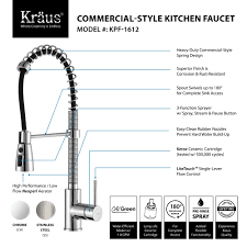 Faucet For Kitchen Sink by Stainless Steel Kitchen Sink Combination Kraususa Com