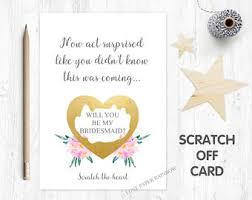bridesmaid invitations uk wedding greeting cards etsy uk