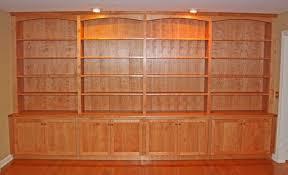 Bookshelves Cherry - how to build cherry bookcase home design ideas