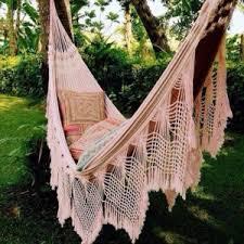 beautiful fringe hammocks macrame crochet the best backyard