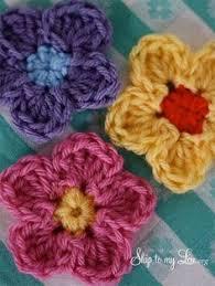 Free Pattern For Crochet Flower - crochet a flower accent free pattern free pattern crochet and