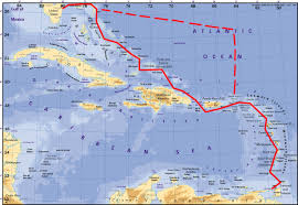 Map Of Florida And Bahamas by Sailing Lucy Lagoon 380