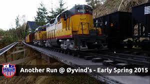 g scale trains garden railway train day spring 2015 youtube