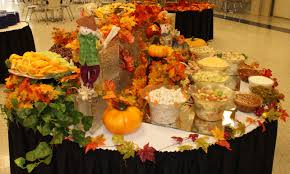 fall thanksgiving table decoration decorating a table for