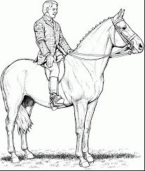 good horse coloring pages horses with horse coloring pages
