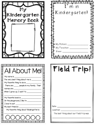 memory books yearbooks my kindergarten memory book 32 pages blackline to create a