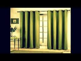 Curtains For Sliding Door Sliding Door Curtains Youtube