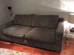 sofa 2m slate grey 2 3 seat sofa 2m length in aberdeen gumtree