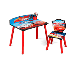 disney cars home decor disney cars desk and chair set lightning mcqueen kids toddler
