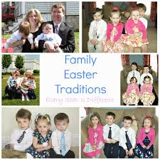 family easter traditions every is different