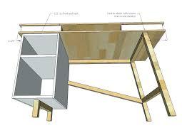 build adjustable table legs diy adjustable height desk dailyhunt co