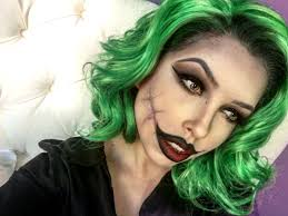 halloween makeup idea for a female joker beauty pinterest