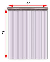 pvc door curtain industrial plastic curtains doors pvc vinyl cisco eagle