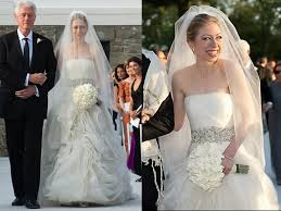 wedding dress chelsea pictures best wedding dresses chelsea clinton